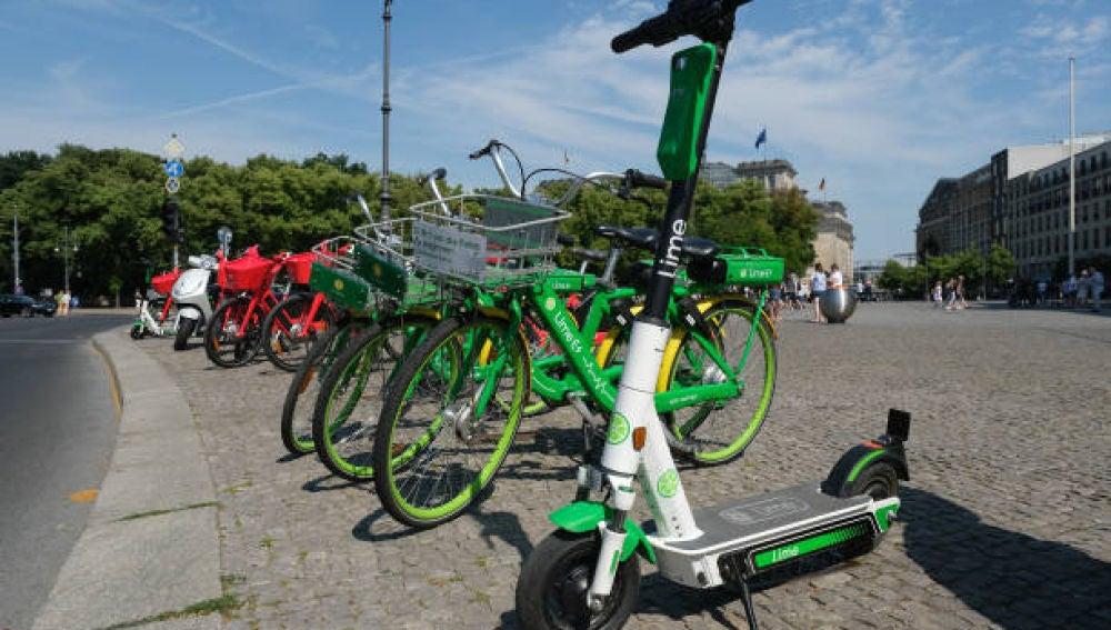 Bicicletas y patinetes eléctricos en la calle