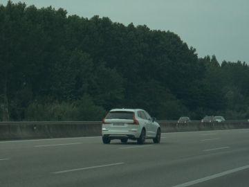 El vehículo del detenido que superó los 214 km/h
