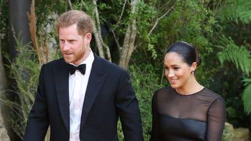 El príncipe Harry y Meghan Markle no se perdieron el estreno europeo de 'El Rey León'