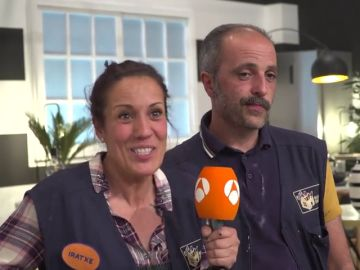 ¿Qué pareja de 'Masters de la reforma' elegirían José e Iratxe para hacer una obra en su casa?