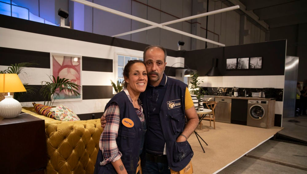 """Descubre el apartamento de José e Iratxe en la final de 'Masters de la reforma': """"Sois muy efectistas con la decoración"""""""