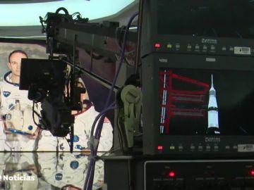 Recreación del Apolo 11