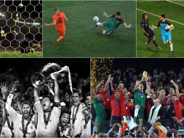 Grandes momentos en la carrera de Iker Casillas