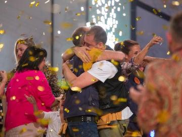 La alegría de los 'winners' Albert e Iván y el honorífico récord de José e Iratxe, en el making of de la final de 'Masters de la reforma'