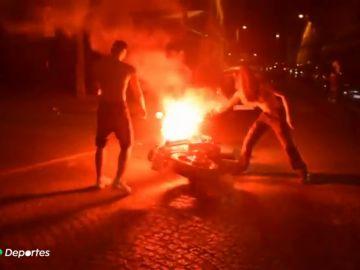 Alrededor de 300 detenidos en Francia por la celebración d
