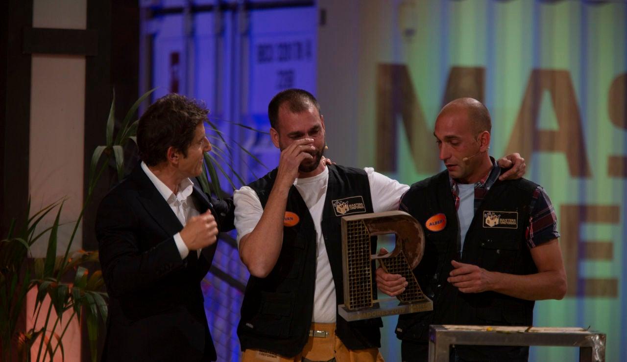 Albert e Iván, emocionados tras ganar 'Masters de la reforma'