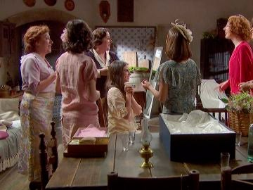 Las chicas preparan a Elsa para la boda