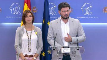 ERC no descarta votar a favor de Sánchez en la investidura