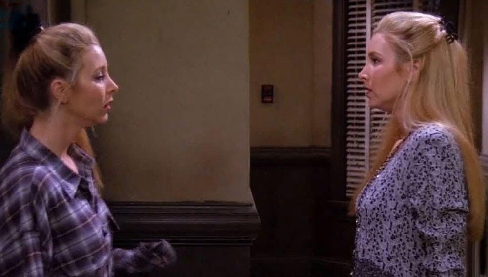 Ursula y Phoebe en 'Friends'