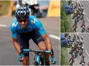 La polémica caída de Mikel Landa en el Tour de Francia