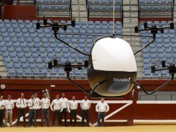 Desarrollan el primer prototipo de aerotaxi sin piloto de España