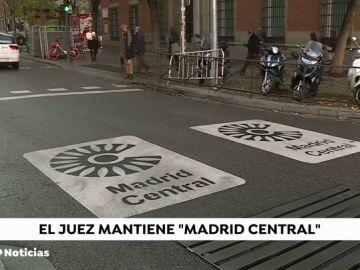 Un juzgado confirma la suspensión de la moratoria de multas de Madrid Central porque protege la salud