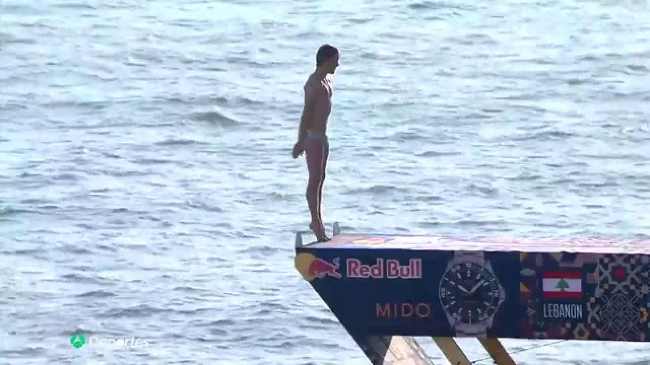Cliff Diving: Gary Hunt consigue el salto perfecto
