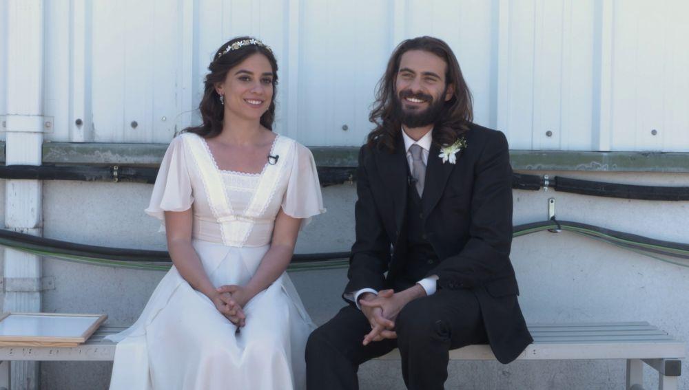 Así se sintieron Isaac y Elsa en una de las bodas más esperadas de Puente Viejo