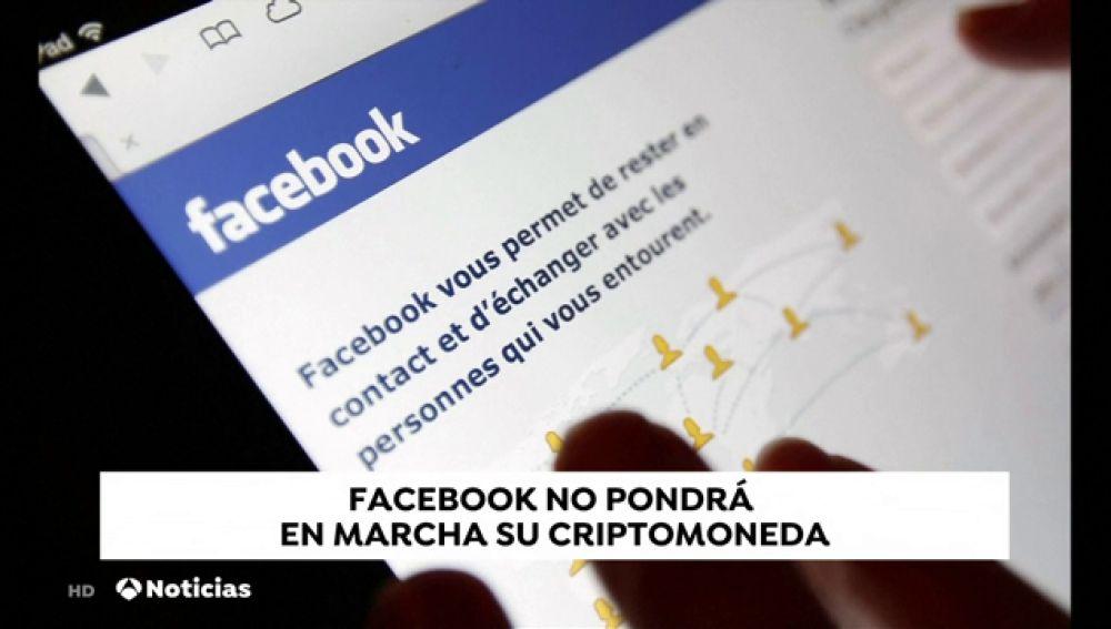 Facebook no lanzará por el momento su nueva Criptomoneda