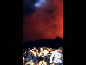 Evacuadas 10.000 personas de un festival de música en la isla croata de Pag debido a un incendio