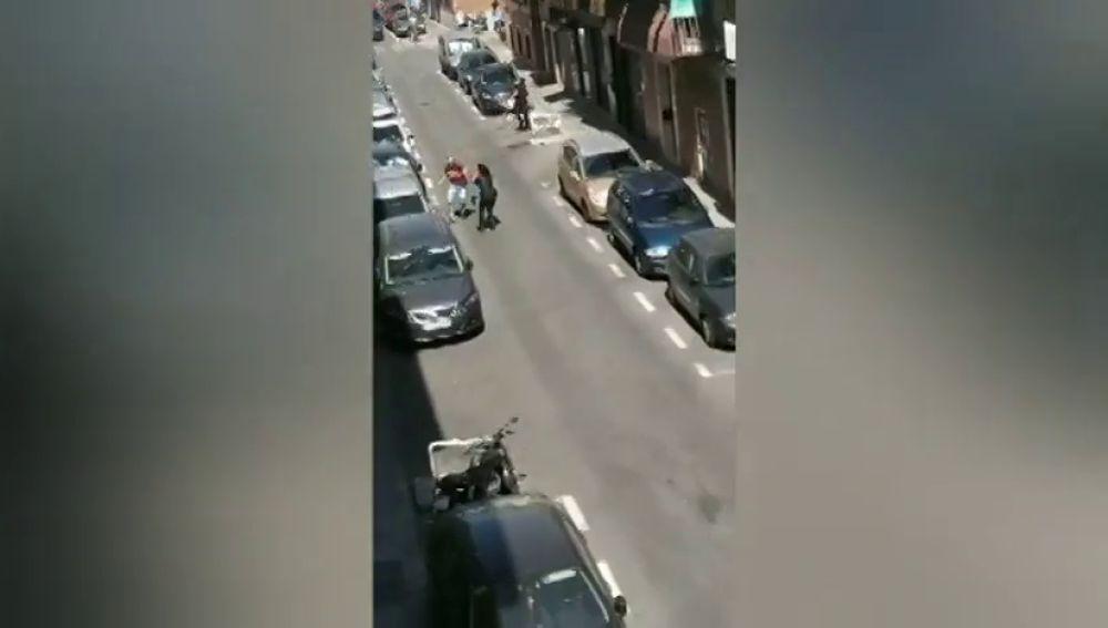 Agreden con un arma blanca a una policía en prácticas en Madrid