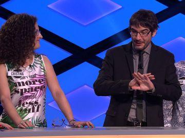 El divertido error de una concursante que hace reír a Juanra Bonet en '¡Boom!'
