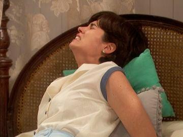 María sufre un grave dolor por culpa de Dori Vilches