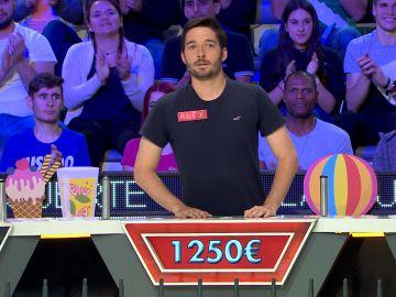 """Un buen comienzo"" de Alex en 'La ruleta de la suerte'"