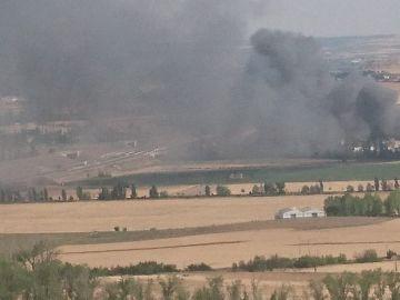 Incendio en Valladolid