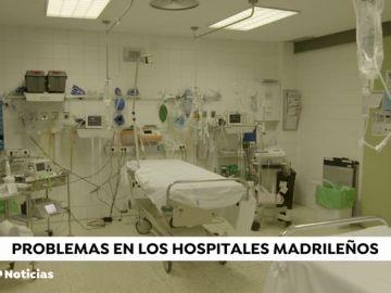 Los hospitales madrileños denuncian la falta de ropa de cama y la suciedad de las prendas