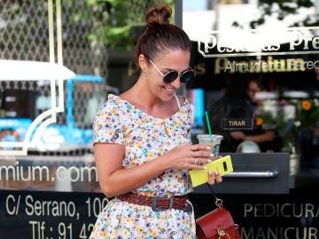 Primeras imágenes de Paula Echevarría tras salir a la luz los rumores de boda con Miguel Torres
