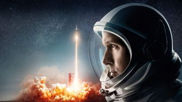 Ryan Gosling como Neil Armstrong en 'First Man'