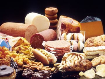 Comidas con grasa