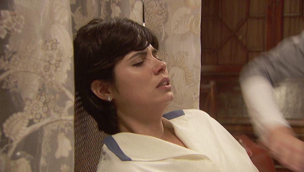 María se hace daño en su rehabilitación con Vilches