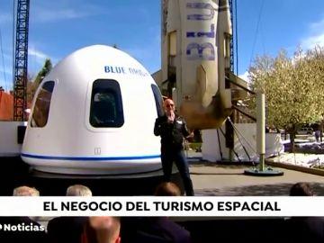 Multimillonarios de todo el mundo invierten para ser los pioneros del turismo espacial
