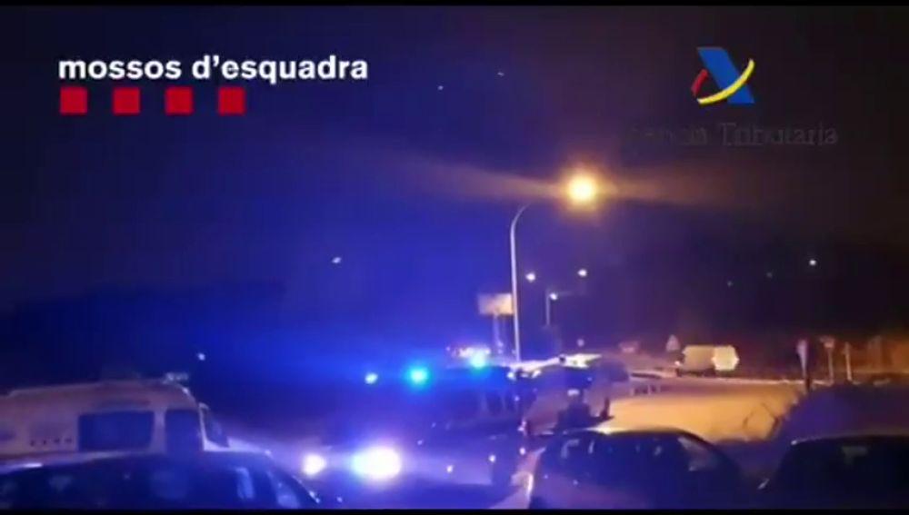 Los Mossos llevan a cabo una operación antidroga en Vilanova i la Geltrú