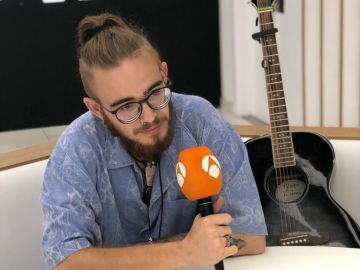 Andrés Martín, en un Facebook Live para Antena 3