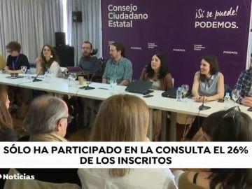 Las bases de Podemos rechazan apoyar a Sánchez si no es un gobierno de coalición sin vetos