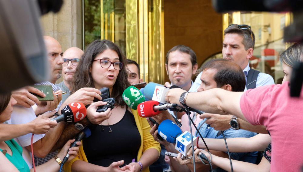 a diputada de Unidas Podemos (UP) por Podemos, Raquel Romero,