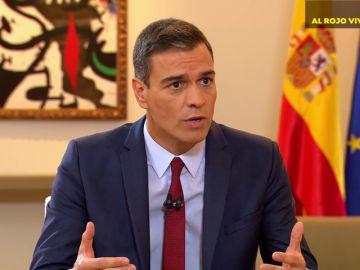 """Pedro Sánchez: """"No me puedo permitir el lujo de un vicepresidente que hable de presos políticos"""""""