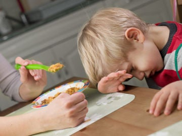 Niño sin apetito