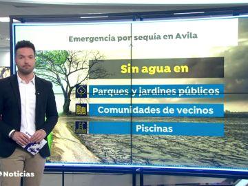 El Ayuntamiento de Ávila no regará los parques públicos ante la sequía