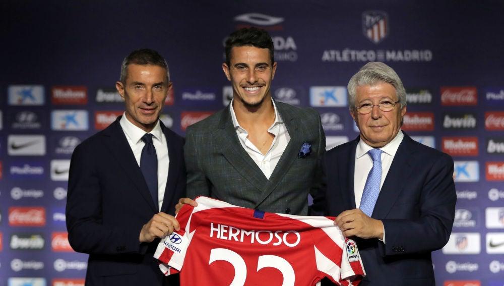 Mario Hermoso, presentado con el Atlético