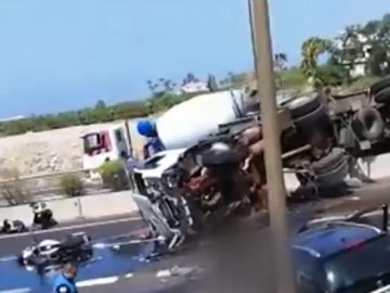 Una fallecida en un accidente en Tenerife