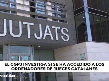El CGPJ investiga si la Generalitat accedió indebidamente a ordenadores de jueces