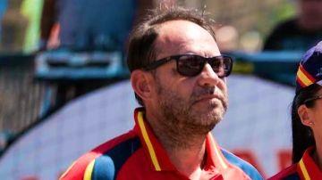 Diego Carrasco, seleccionador español de balonmano playa