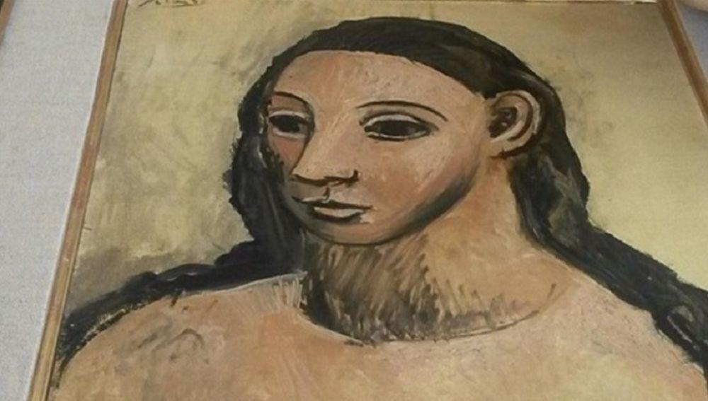 Cuadro de Picasso 'Cabeza de mujer joven'