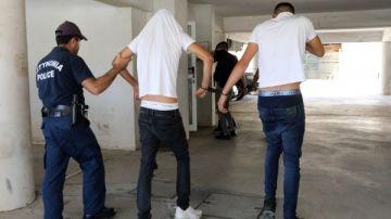 Los jóvenes acusados por una presunta violación en Chipre