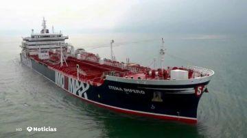Irán anuncia haber capturado un petrolero británico que cruzaba por el estrecho de Ormuz