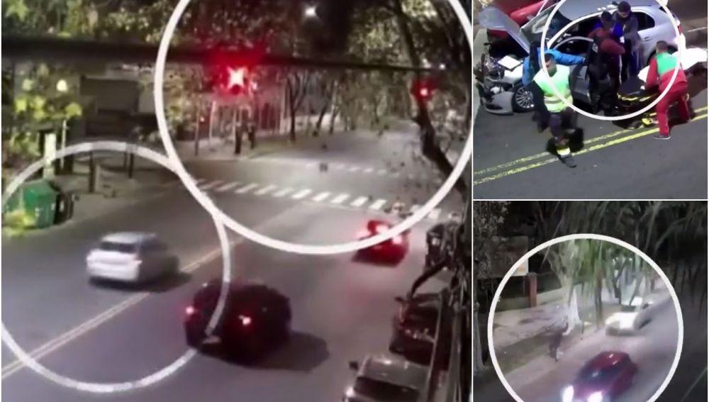 Un conductor borracho atropella a un ciclista y se da a la fuga
