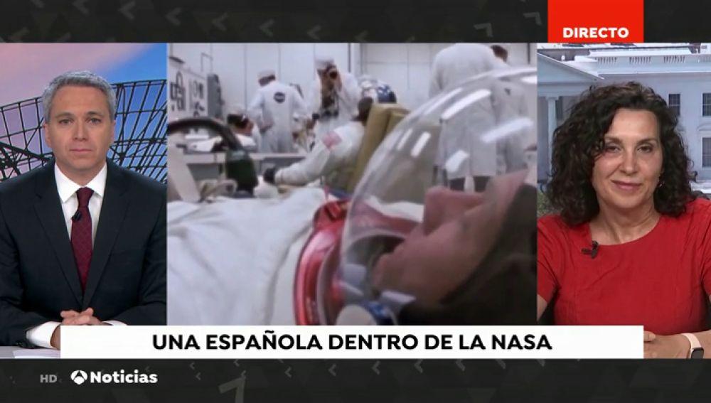 """La astrofísica, Begoña Vila: """"Con la nueva misión de la NASA se quiere poner a la primera mujer en la Luna"""""""
