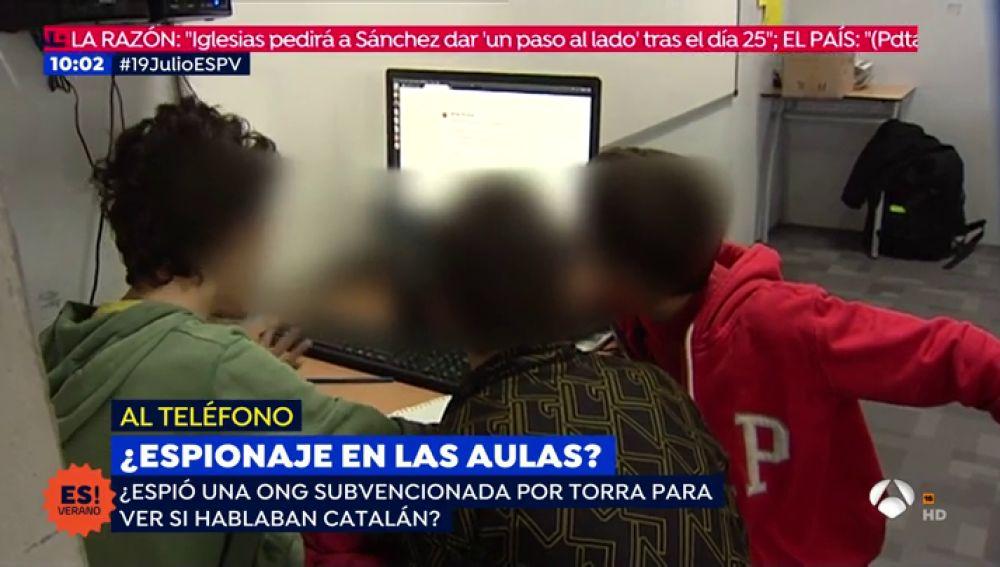Estudio en colegios catalanes.