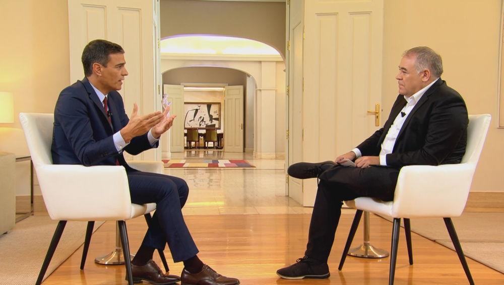 Pedro Sánchez y Antonio G. Ferreras