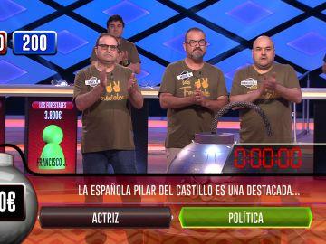 'Los Forestales', nuevos campeones de '¡Boom!' tras vencer a 'Los hay peores' en la bomba clasificatoria